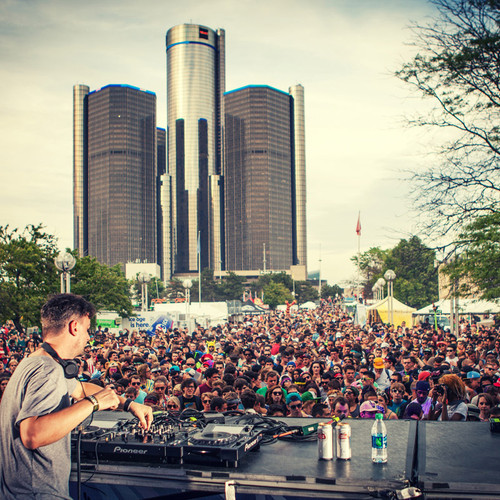 download → Bonobo - live at Movement Festival 2014, MOOG Stage, Detroit - 26-May-2014