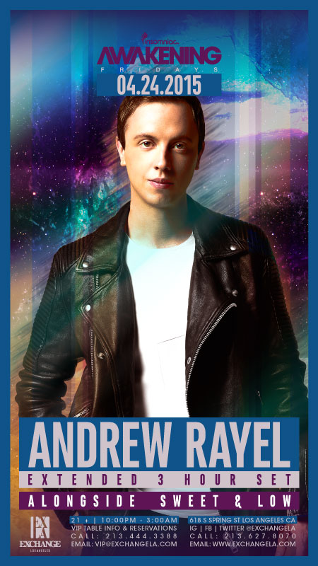 download → Andrew Rayel with Sweet & Low - Live at The Exchange, Los Angeles, USA, 720p Stream - 24-Apr-2015