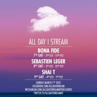 download → Bona Fide, Sebastien Leger & Shai T - Live @ All Day I Stream - 07-Mar-2021