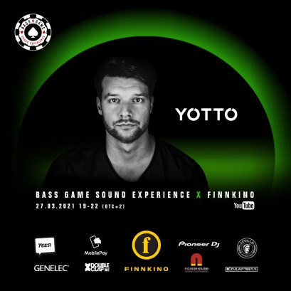 download → Yotto - Live @ Bass Game Sound Experience X Finnkino (Finland) - 27-Mar-2021