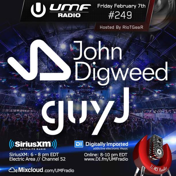 download → John Digweed & Guy J - UMF RADIO - 07-Feb-2014