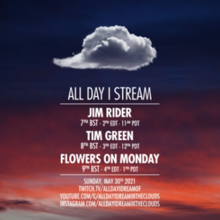 download → Jim Rider, Tim Green & Flowers on Monday - Live @ All Day I Stream - 30-May-2021