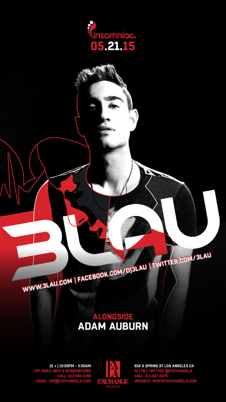 download → 3LAU - Live at Exchange Club, Los Angeles, USA - 21-May-2015
