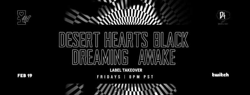 download → Desert Dwellers, D-Nox, Jamie Stevens, Djuma Soundsystem, Pole Folder, Uone, Treavor Moontribe - Desert Hearts Black - Dreaming Awake Takeover (Live 02.19.21) - 19-Feb-2021