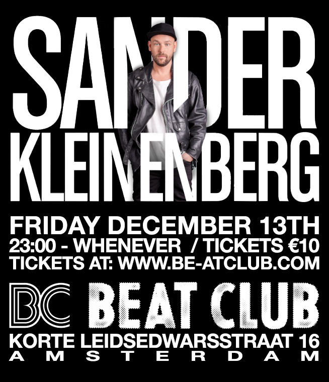 download → Sander Kleinenberg - Live @ Beat Club - Amsterdam - 13-Dec-2013