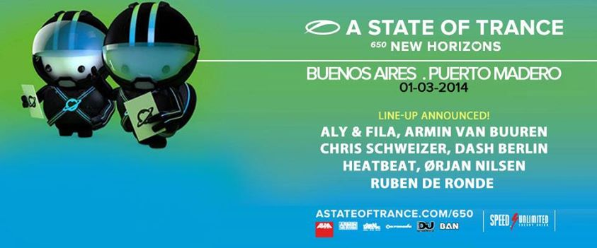 download → Armin van Buuren, Dash Berlin, Orjan Nilsen, Heatbeat, Ruben de Ronde, Chris Schweizer & Tomas Heredia - A State Of Trance 650 Buenos Aires, 720p Stream - 01-Mar-2014