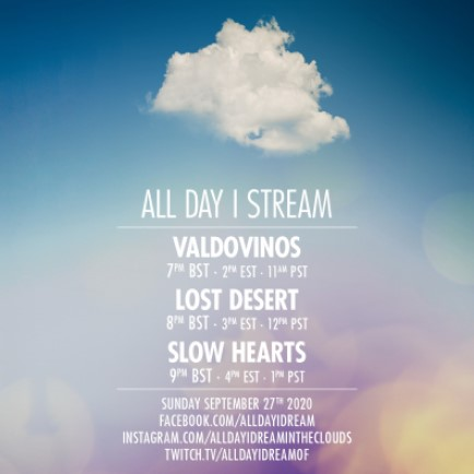 download → Valdovinos, Lost Desert & Slow Hearts - Live @ All Day I Dream - 27-Sep-2020