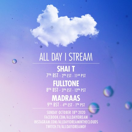 download → Shai T, Fulltone & Madraas - Live @ All Day I Stream - 18-Oct-2020