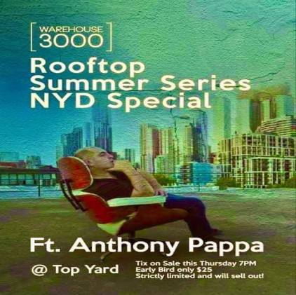 download → Anthony Pappa - Live @ Warehouse 3000 Rooftop Summer Series NYD Special (Melbourne, Australia) - 01-Jan-2021