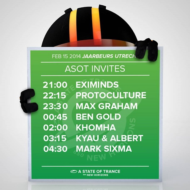 download → Ben Gold, Eximinds, KhoMha, Kyau & Albert, Mark Sixma, Max Graham, Protoculture - A State Of Trance 650 Utrecht - ASOT 650 ASOT INVITES - 15-Feb-2014
