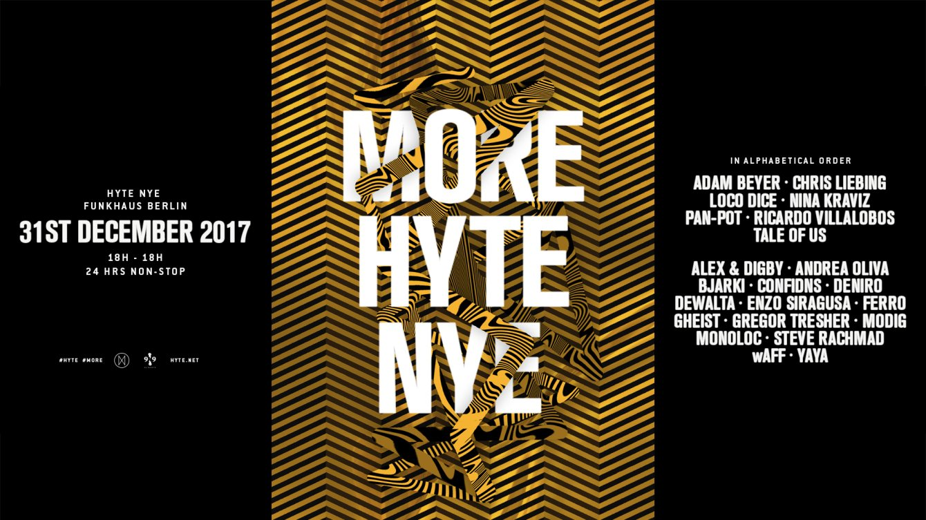 download → Gregor Thesher - live at HYTE NYE Berlin 2017 (Funkhaus, Berlin) - 31-Dec-2017
