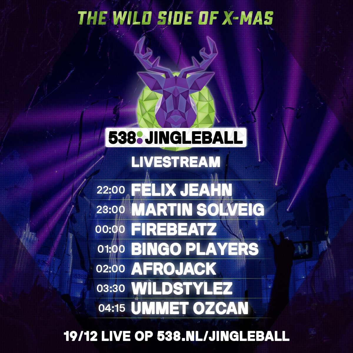 download → livesets from 538 Jingle Ball (Ziggo Dome Amsterdam) - 19-Dec-2015