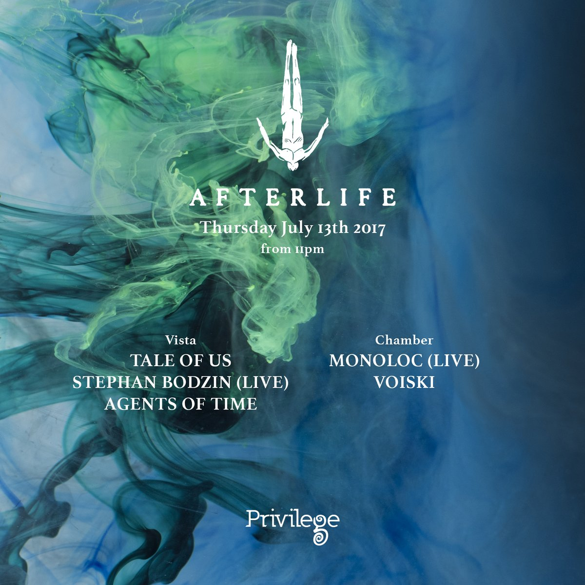 download → Agents Of Time - live at Afterlife (Privilege, Ibiza) - 13-Jul-2017