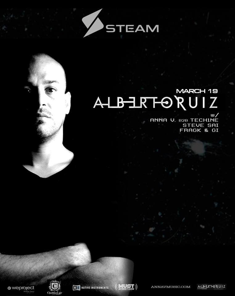 download → Alberto Ruiz - live at Steam (Athens) - 19-Mar-2016
