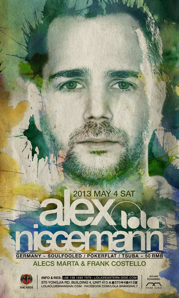download → Alex Niggemann - live at Lola Club (Shanghai) - 04-May-2013