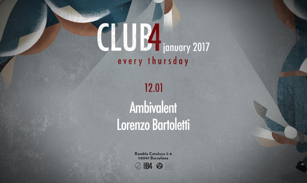 download → Ambivalent - live at Club4, Barcelona - 12-Jan-2017