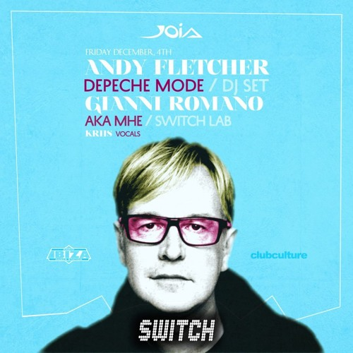 download → Andrew Fletcher (Depeche Mode) - live at SWITCH (Joia Club, Napoli) - 04-Dec-2015