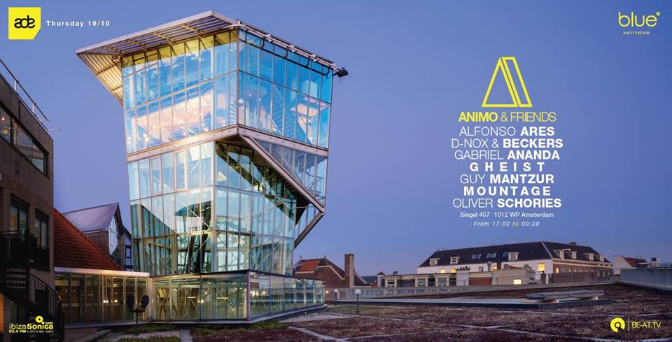 download → Gheist, Gabriel Ananda, Oliver Schories, D-Nox & Beckers, Alfonso Ares, Mountage - live at Animo & Friends (Blue Amsterdam, ADE 2017) - 19-Oct-2017
