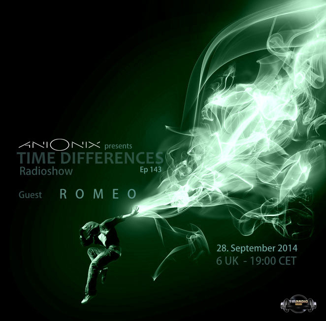 download → Ani Onix, Romeo - Time Differences 143 on TM Radio - 28-Sep-2014