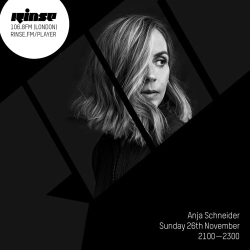 download → Anja Schneider - Promo Set on Rinse.FM - 26-Nov-2017