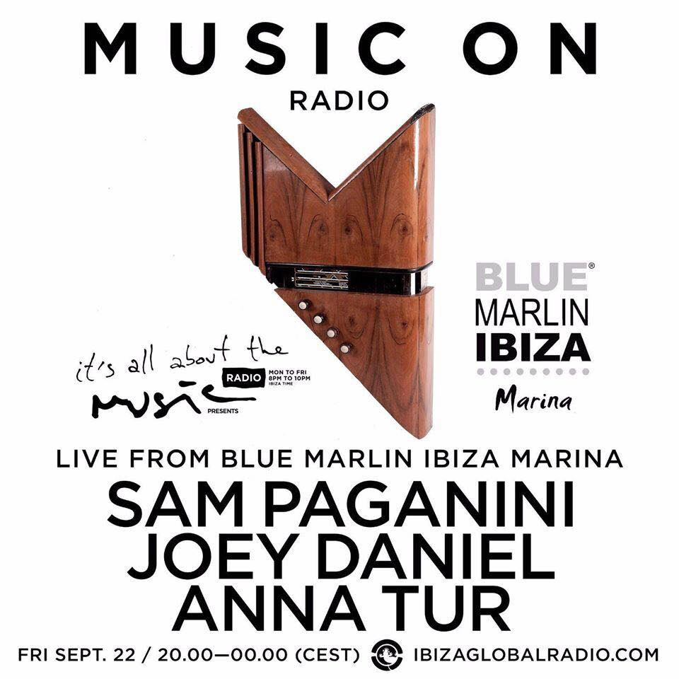 download → Anna Tur, Joey Daniel, Sam Paganini - Live at Blue Marlin (Ibiza) - 22-Sep-2017
