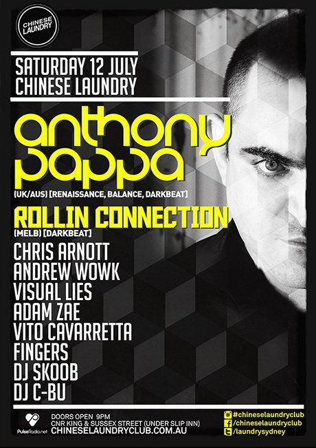 download → Anthony Pappa - Live At Chinese Laundry (Sydney) - 12-Jul-2014