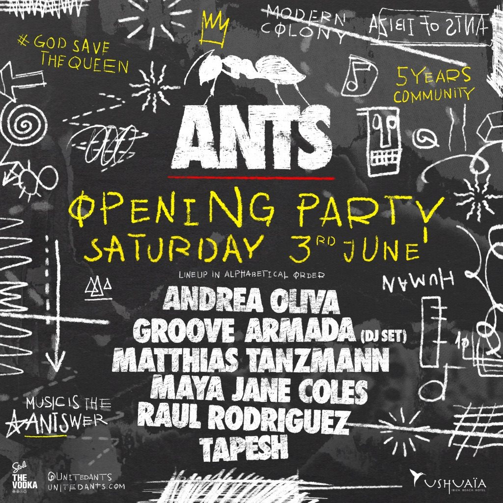 download → Maya Jane Coles - live at Ants Opening Party (Ushuaia, Ibiza) - 03-Jun-2017