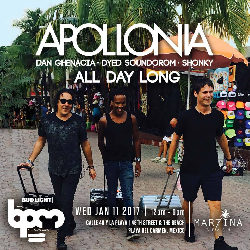 download → Apollonia - live at Apollonia All Day Long, Martina Beach (THE BPM 2017, Mexico) - 11-Jan-2017