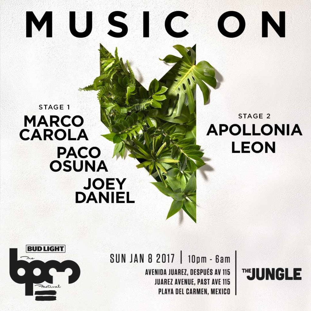 download → Apollonia - live at  Music On, The Jungle (THE BPM 2017, Mexico) - 08-Jan-2017