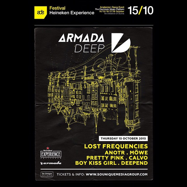 download → Lost Frequencies, MOWE, ANOTR, Pretty Pink, CALVO, Boy Meets Girl, Deepend - live at Armada Deep Showcase, ADE 2015 - 15-Oct-2015