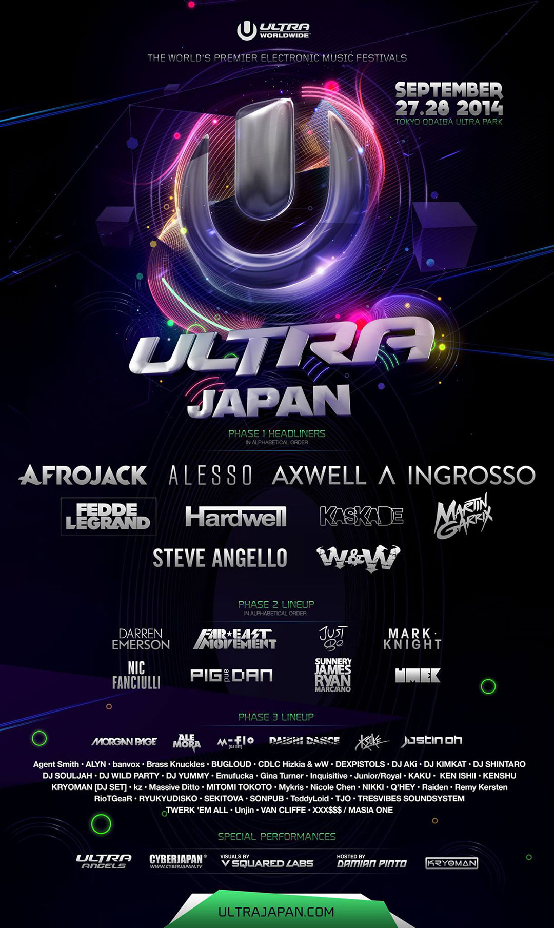 download → Art Department - live at Ultra Music Festival 2016 (Japan, Tokyo) - 19-Sep-2016
