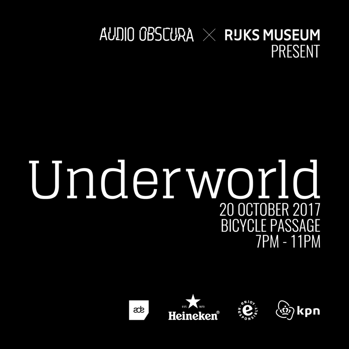 download → Underworld  - Live at Audio Obscura, Rijsk Museum (ADE 2017, Amsterdam) - 20-Oct-2017