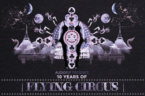 download → Audiofly - 10 Years Flying Circus Anniversary Mix - August 2016