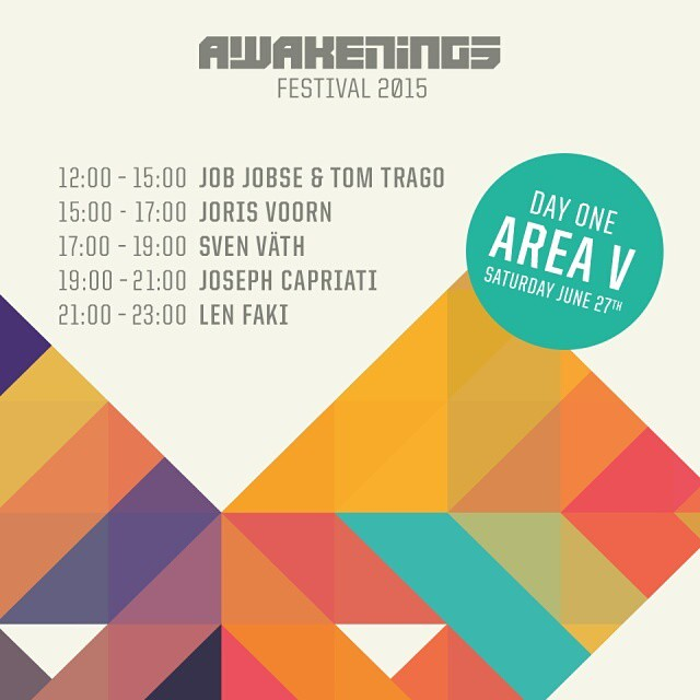 download → Job Jobse & Tom Trago - live at Awakenings 2015, Day 1 Area V, Amsterdam - 27-Jun-2015