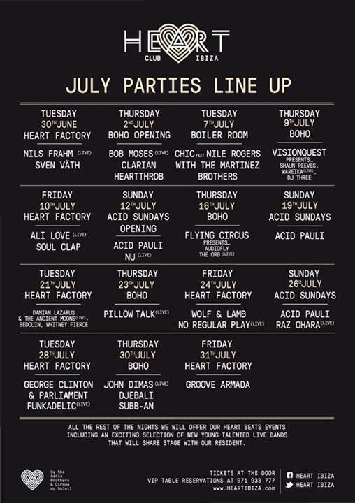 The Orb - live at BOHO with Flying Circus, Heart Club, Ibiza - 16-Jul-2015