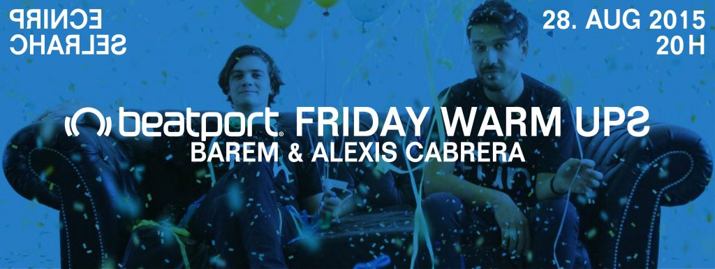 download → Barem b2b Alexis Cabrera - live at Fun Records Launch, Beatport Berlin - 28-Aug-2015