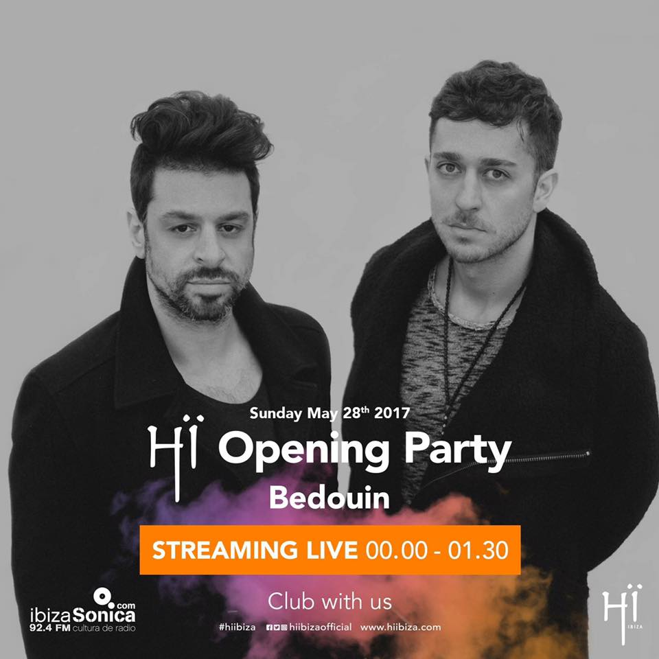 download → Bedouin - live at HI IBIZA Opening Party 2017 (ex-Space Club, Ibiza) - 28-May-2017
