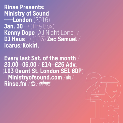 download → Ben Pearce w/ Javier Orduna - Rinse FM Podcast - 23-Jan-2016