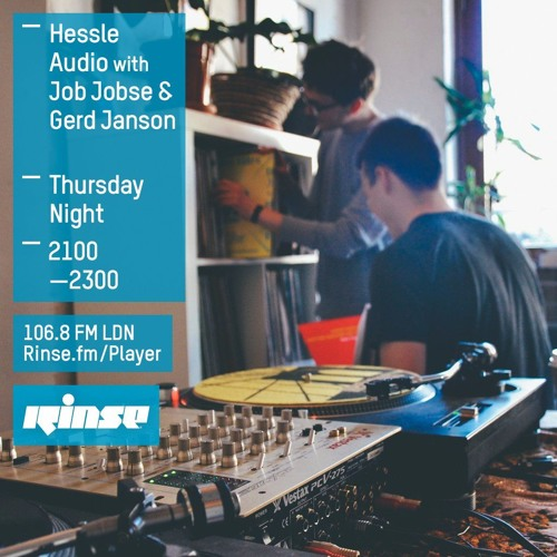 download → Ben UFO & Job Jobse - Rinse FM Podcast - Hessle Audio - 24-Mar-2016