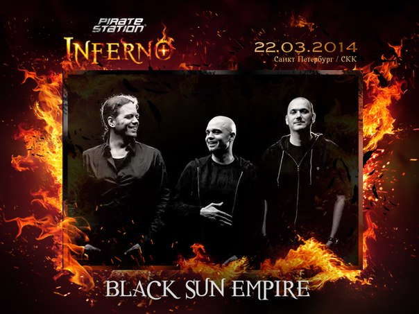 download → Black Sun Empire - live at Pirate Station Inferno, St. Petersburg, Russia [1080p] - 22-Mar-2014