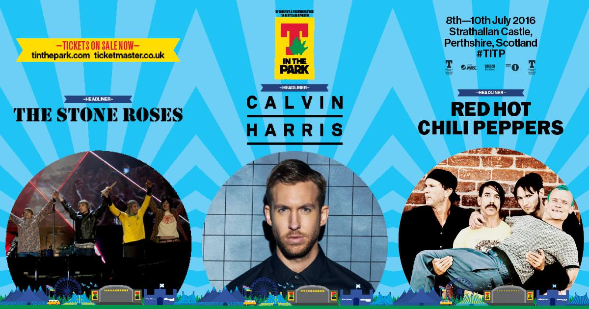 download → Calvin Harris - live at T In The Park 2016 (Scotland) - 09-Jul-2016