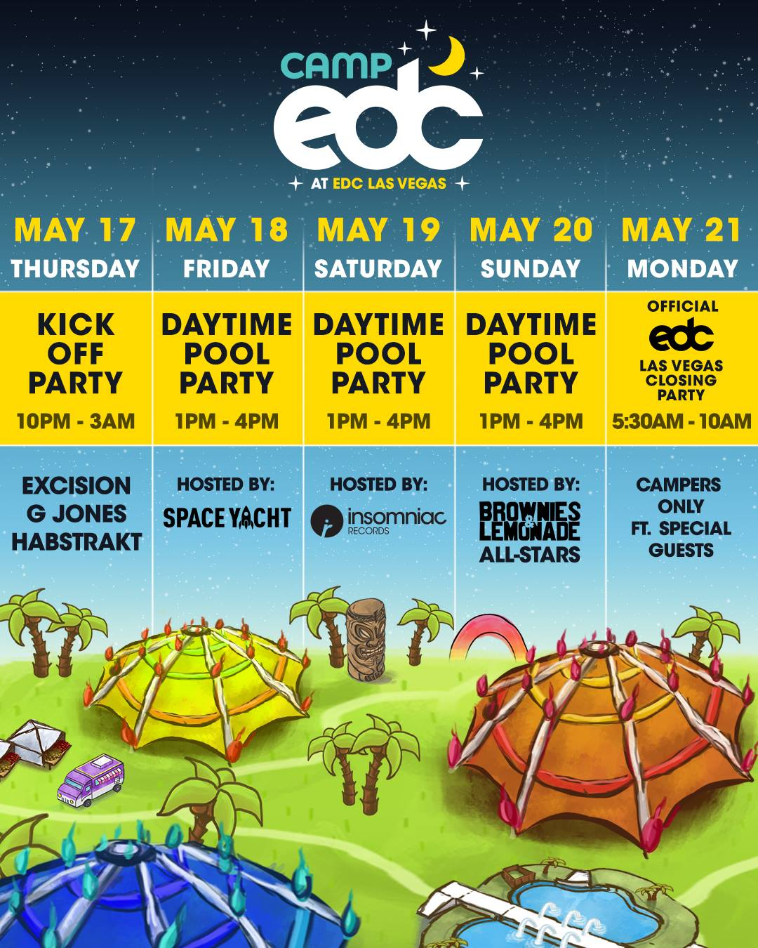download → Camp EDC - EDC Las Vegas 2018 - Saturday - 1080p HD - 19-May-2018