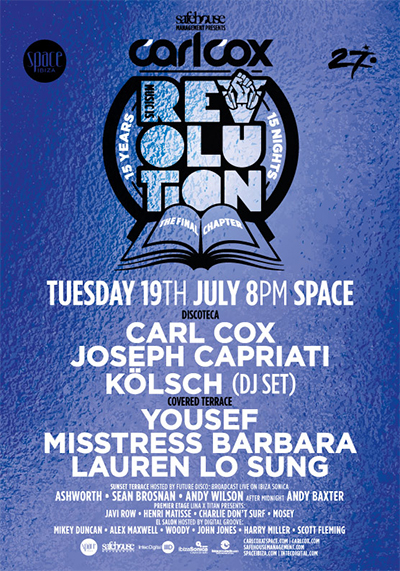 download → Joseph Capriati - live at Music is Revolution, Week 6 (Space, Ibiza) - 19-Jul-2016