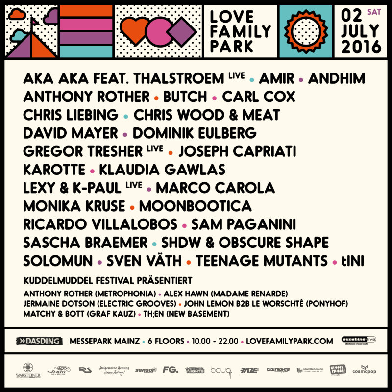 download → Carl Cox - Love Family Park 2016 (Messepark Mainz, Germany) - 720p HD - 02-Jul-2016