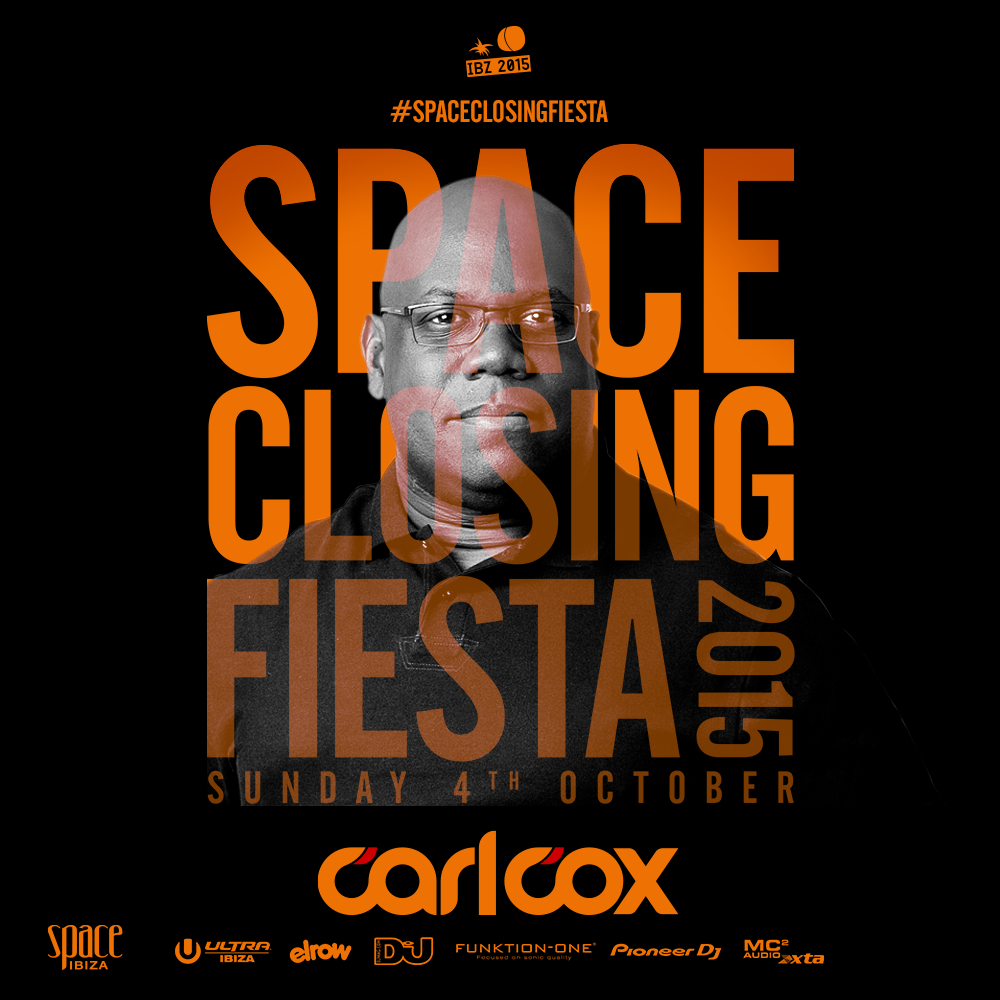 download → Carl Cox - live at Space Closing Fiesta 2015, Open Air Stage, Space, Ibiza - 04-Oct-2015