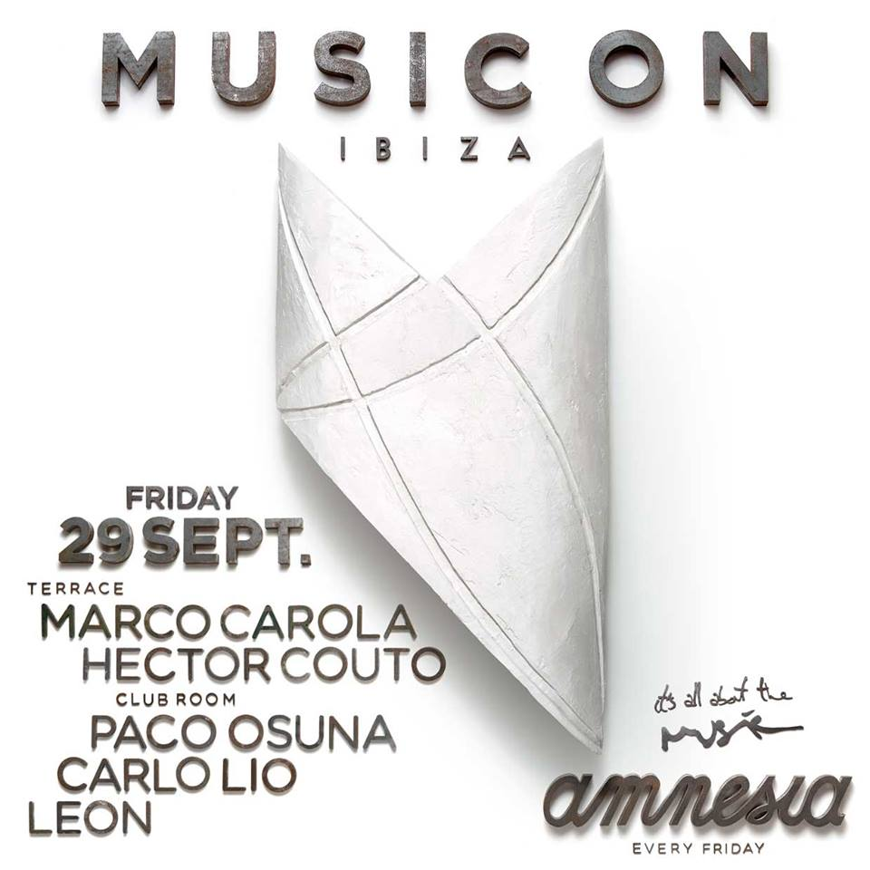 download → Carlo Lio - live at Music On (Amnesia, Ibiza) - 29-Sep-2017
