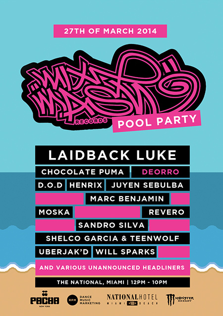 download → Mixmash Pool Party 2014 - National Hotel, Miami Music Week, WMC - 27-Mar-2014