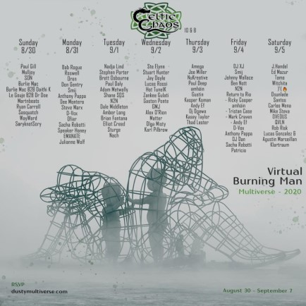 download → Dee Montero - Live @ Celtic Chaos Virtual Burning Man - 31-Aug-2020