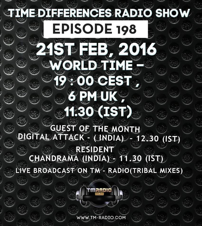 download → Chandrama, Digital Attack - Time Differences 198 on TM Radio - 21-Feb-2016