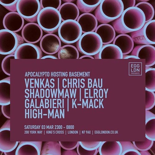 download → Chris Bau - live at EGG London (Apocalypto Hosting) - 03-Mar-2018